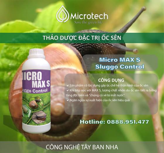 cách diệt ốc sên hiệu quả Micro Max S