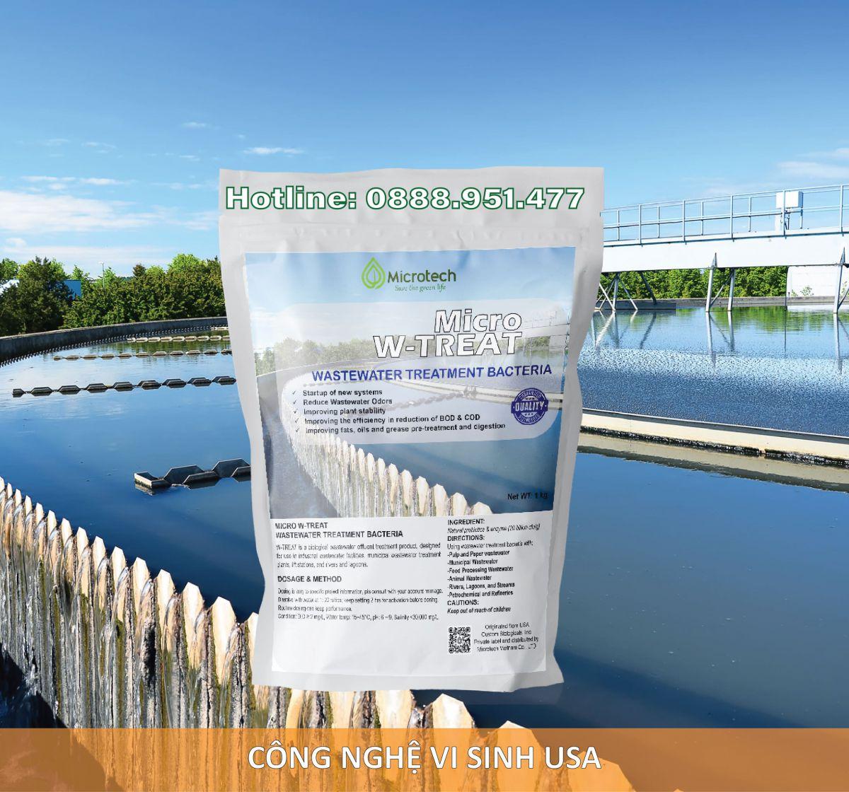 vi sinh xử lý nước thải dệt nhuộm